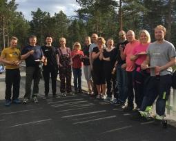 Dugnad på Rallarkirkegården/Hergot gravlund