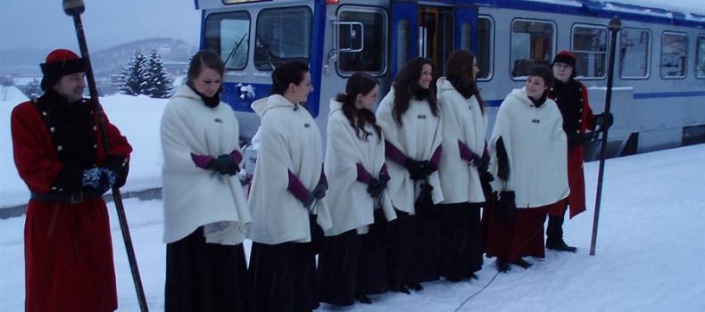 Onsdag kom Svarta Bjørn-representantene til Malmbyen