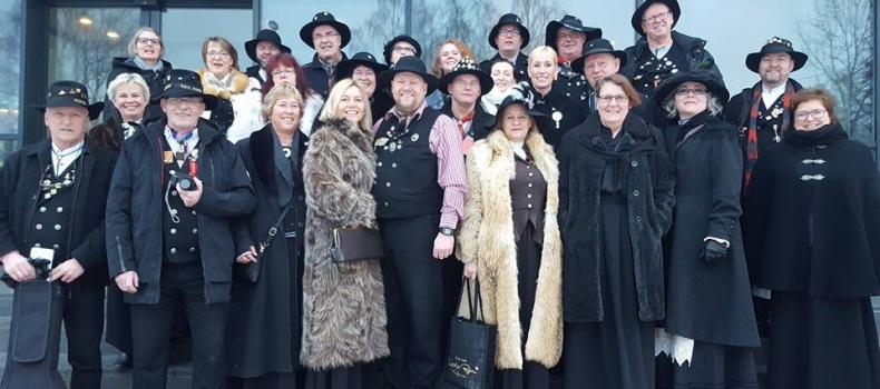 Rallarklubbens besøk på Rørosmartnan
