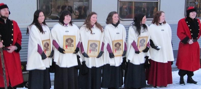 Mottakelsen av Svarta Bjørn representantene 2012