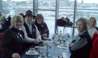 Rallarklubbens dugnadsgjeng startet med felles frokost